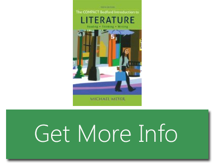the compact bedford introduction to literature reading thinking and writing eleventh edition